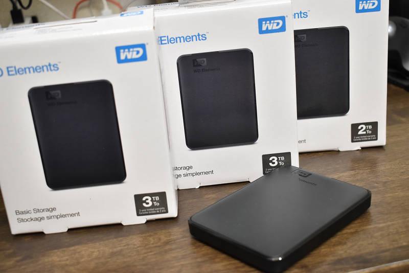 SSD換装前にデータのバックアップをしましょう
