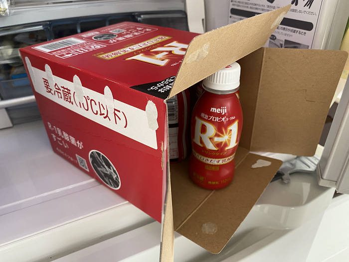 R1ヨーグルトは箱買い